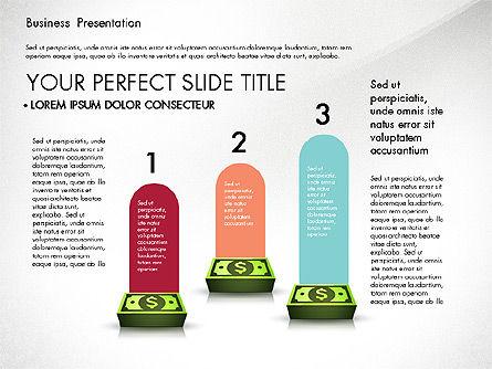 Financial Pitch Deck Presentation Template, Slide 6, 02976, Presentation Templates — PoweredTemplate.com