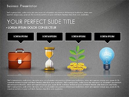 Financial Pitch Deck Presentation Template, Slide 9, 02976, Presentation Templates — PoweredTemplate.com