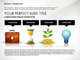 Presentation Templates: Financial Pitch Deck Presentation Template #02976