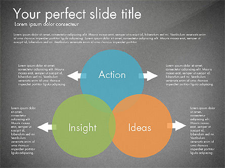 Work Plan Discussion Diagram, Slide 12, 02977, Business Models — PoweredTemplate.com