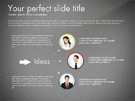 Work Plan Discussion Diagram, Slide 13, 02977, Business Models — PoweredTemplate.com