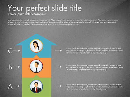 Work Plan Discussion Diagram, Slide 16, 02977, Business Models — PoweredTemplate.com