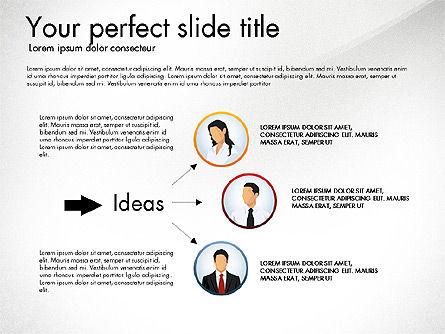 Work Plan Discussion Diagram, Slide 5, 02977, Business Models — PoweredTemplate.com