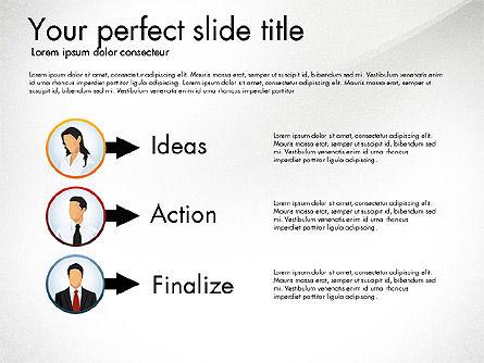 Work Plan Discussion Diagram, Slide 6, 02977, Business Models — PoweredTemplate.com
