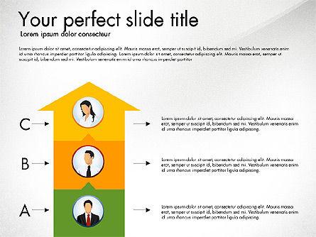Work Plan Discussion Diagram, Slide 8, 02977, Business Models — PoweredTemplate.com