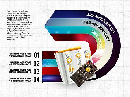 TV Invographics, 02978, Infographics — PoweredTemplate.com