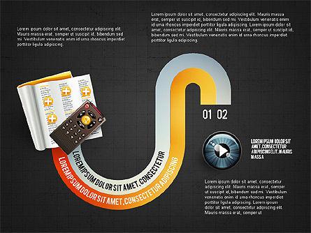 TV Invographics, Slide 11, 02978, Infographics — PoweredTemplate.com