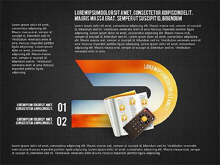 TV Invographics, Slide 15, 02978, Infographics — PoweredTemplate.com