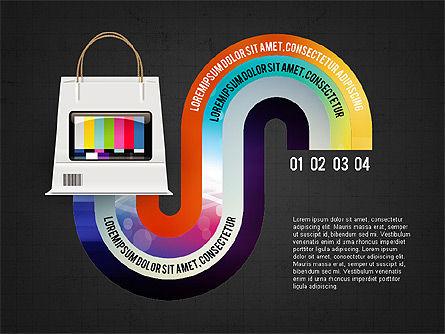 TV Invographics, Slide 16, 02978, Infographics — PoweredTemplate.com