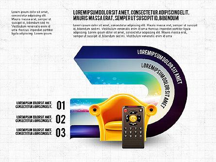 TV Invographics, Slide 5, 02978, Infographics — PoweredTemplate.com