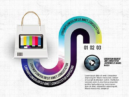 TV Invographics, Slide 6, 02978, Infographics — PoweredTemplate.com