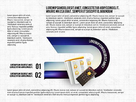 TV Invographics, Slide 7, 02978, Infographics — PoweredTemplate.com