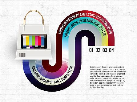 TV Invographics, Slide 8, 02978, Infographics — PoweredTemplate.com