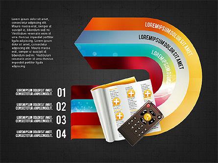 TV Invographics, Slide 9, 02978, Infographics — PoweredTemplate.com