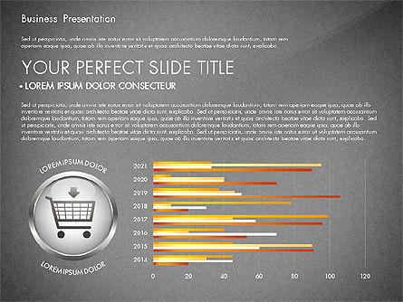 Business Process Presentation Template, Slide 10, 02980, Process Diagrams — PoweredTemplate.com