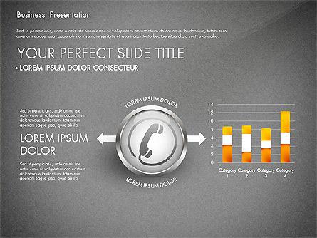 Business Process Presentation Template, Slide 11, 02980, Process Diagrams — PoweredTemplate.com