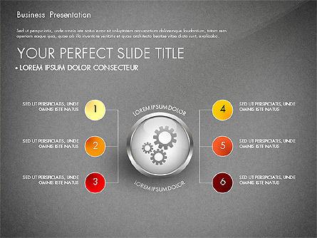 Business Process Presentation Template, Slide 12, 02980, Process Diagrams — PoweredTemplate.com