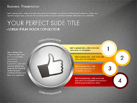 Business Process Presentation Template, Slide 14, 02980, Process Diagrams — PoweredTemplate.com