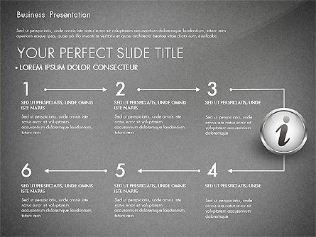 Business Process Presentation Template, Slide 15, 02980, Process Diagrams — PoweredTemplate.com