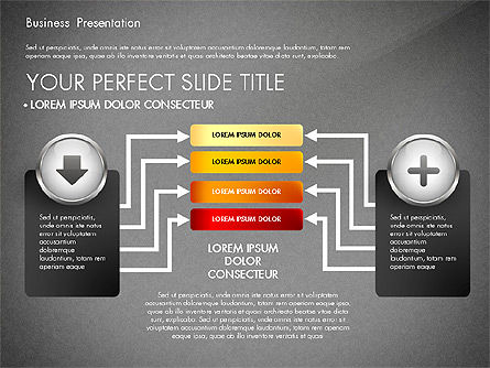 Business Process Presentation Template, Slide 16, 02980, Process Diagrams — PoweredTemplate.com