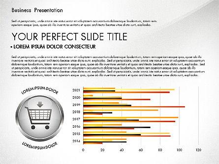 Business Process Presentation Template, Slide 2, 02980, Process Diagrams — PoweredTemplate.com