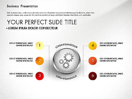 Business Process Presentation Template, Slide 4, 02980, Process Diagrams — PoweredTemplate.com