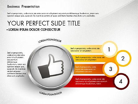 Business Process Presentation Template, Slide 6, 02980, Process Diagrams — PoweredTemplate.com