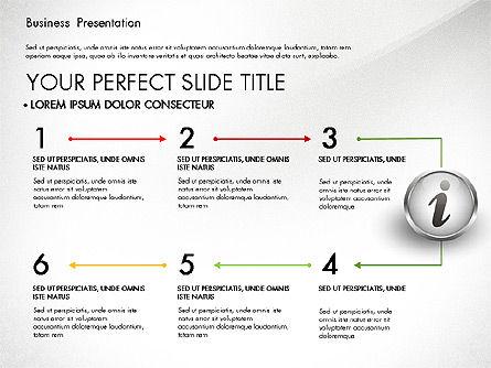 Business Process Presentation Template, Slide 7, 02980, Process Diagrams — PoweredTemplate.com