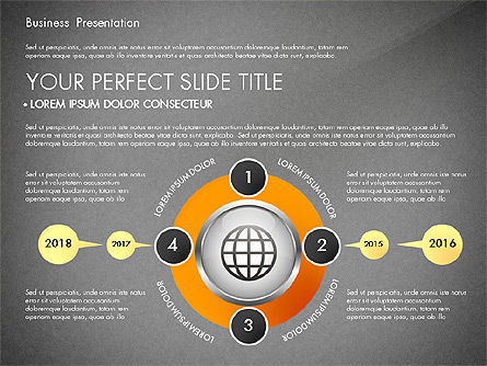 Business Process Presentation Template, Slide 9, 02980, Process Diagrams — PoweredTemplate.com
