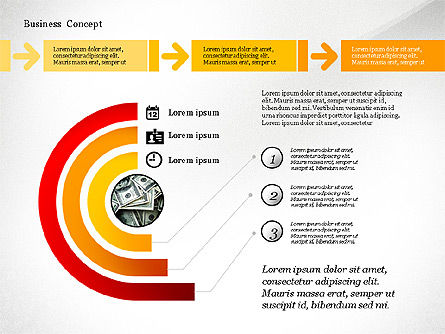 Step by Step Process with Puzzle and Icons, Slide 3, 02981, Puzzle Diagrams — PoweredTemplate.com
