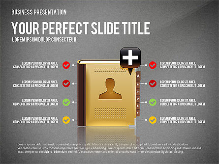 Company Management Presentation Template, Slide 10, 02982, Presentation Templates — PoweredTemplate.com