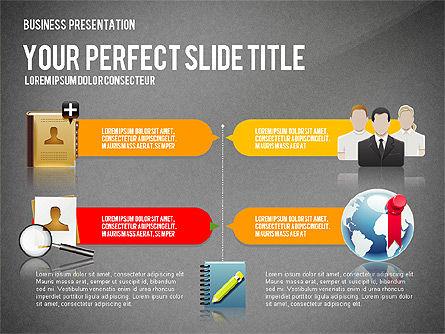 Company Management Presentation Template, Slide 11, 02982, Presentation Templates — PoweredTemplate.com