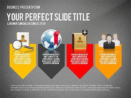 Company Management Presentation Template, Slide 12, 02982, Presentation Templates — PoweredTemplate.com