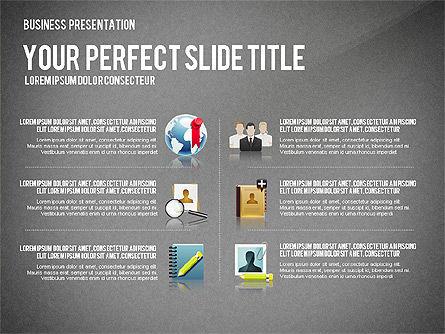 Company Management Presentation Template, Slide 13, 02982, Presentation Templates — PoweredTemplate.com