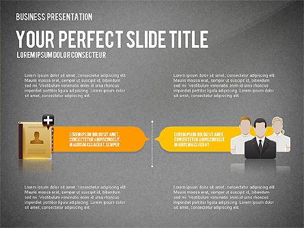 Company Management Presentation Template, Slide 14, 02982, Presentation Templates — PoweredTemplate.com
