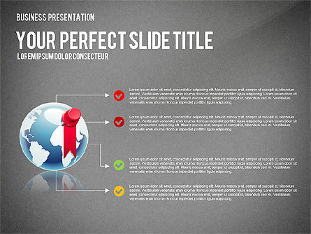 Company Management Presentation Template, Slide 16, 02982, Presentation Templates — PoweredTemplate.com