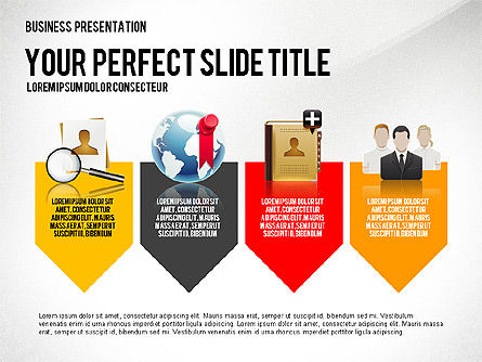 Company Management Presentation Template, Slide 4, 02982, Presentation Templates — PoweredTemplate.com