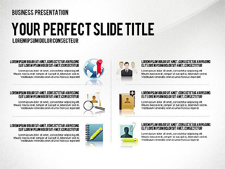 Company Management Presentation Template, Slide 5, 02982, Presentation Templates — PoweredTemplate.com
