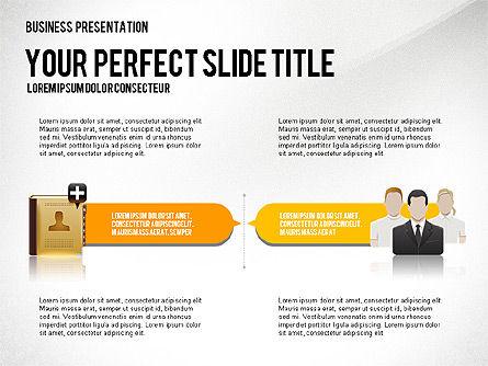 Company Management Presentation Template, Slide 6, 02982, Presentation Templates — PoweredTemplate.com