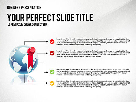 Company Management Presentation Template, Slide 8, 02982, Presentation Templates — PoweredTemplate.com