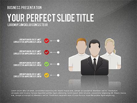 Company Management Presentation Template, Slide 9, 02982, Presentation Templates — PoweredTemplate.com