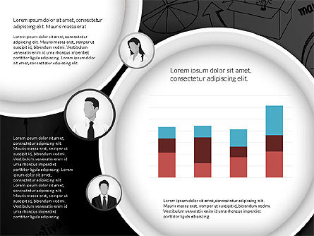 Data Driven Company Results Concept, Slide 11, 02983, Data Driven Diagrams and Charts — PoweredTemplate.com