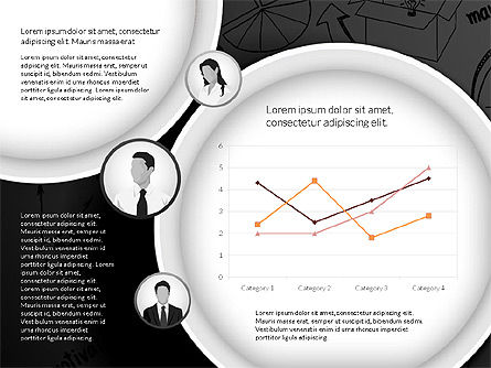 Data Driven Company Results Concept, Slide 16, 02983, Data Driven Diagrams and Charts — PoweredTemplate.com