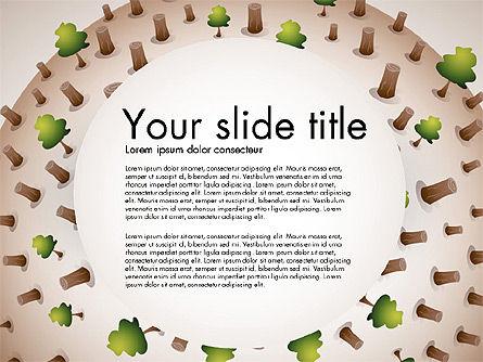 Presentation Templates: Deforestation Presentation Template #02984