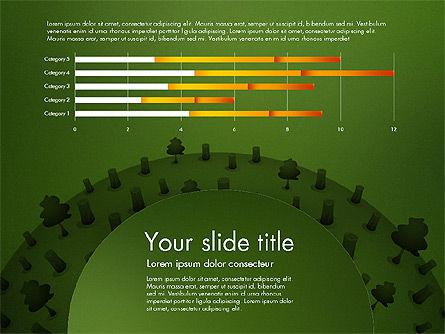 Deforestation Presentation Template, Slide 10, 02984, Presentation Templates — PoweredTemplate.com