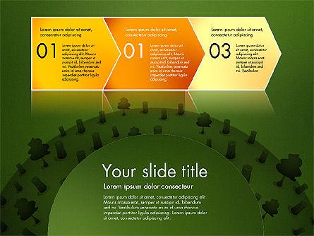 Deforestation Presentation Template, Slide 12, 02984, Presentation Templates — PoweredTemplate.com