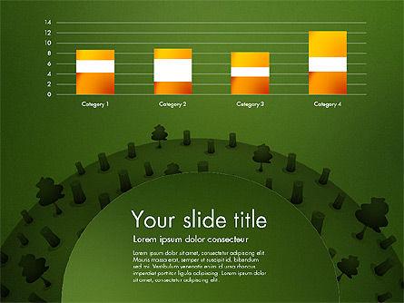 Deforestation Presentation Template, Slide 13, 02984, Presentation Templates — PoweredTemplate.com