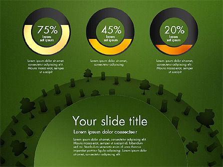 Deforestation Presentation Template, Slide 15, 02984, Presentation Templates — PoweredTemplate.com