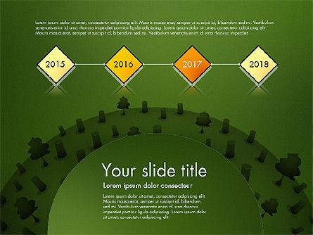 Deforestation Presentation Template, Slide 16, 02984, Presentation Templates — PoweredTemplate.com