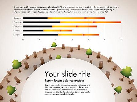 Deforestation Presentation Template, Slide 2, 02984, Presentation Templates — PoweredTemplate.com